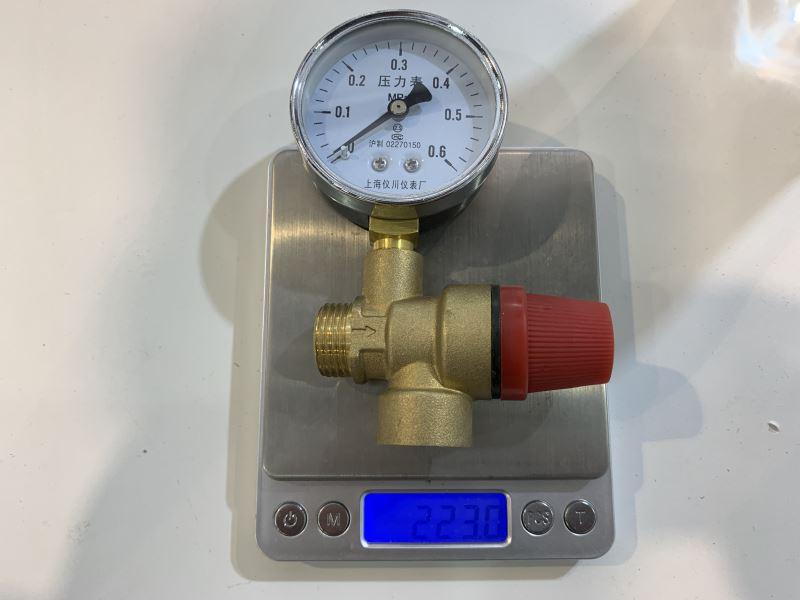 Pressure Gauge Works For Safety Valve