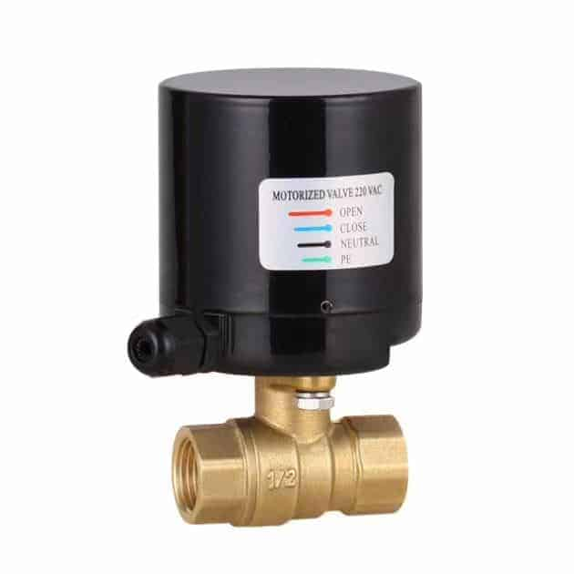 Solenoid Ball Valve From Half Inch To One Inch